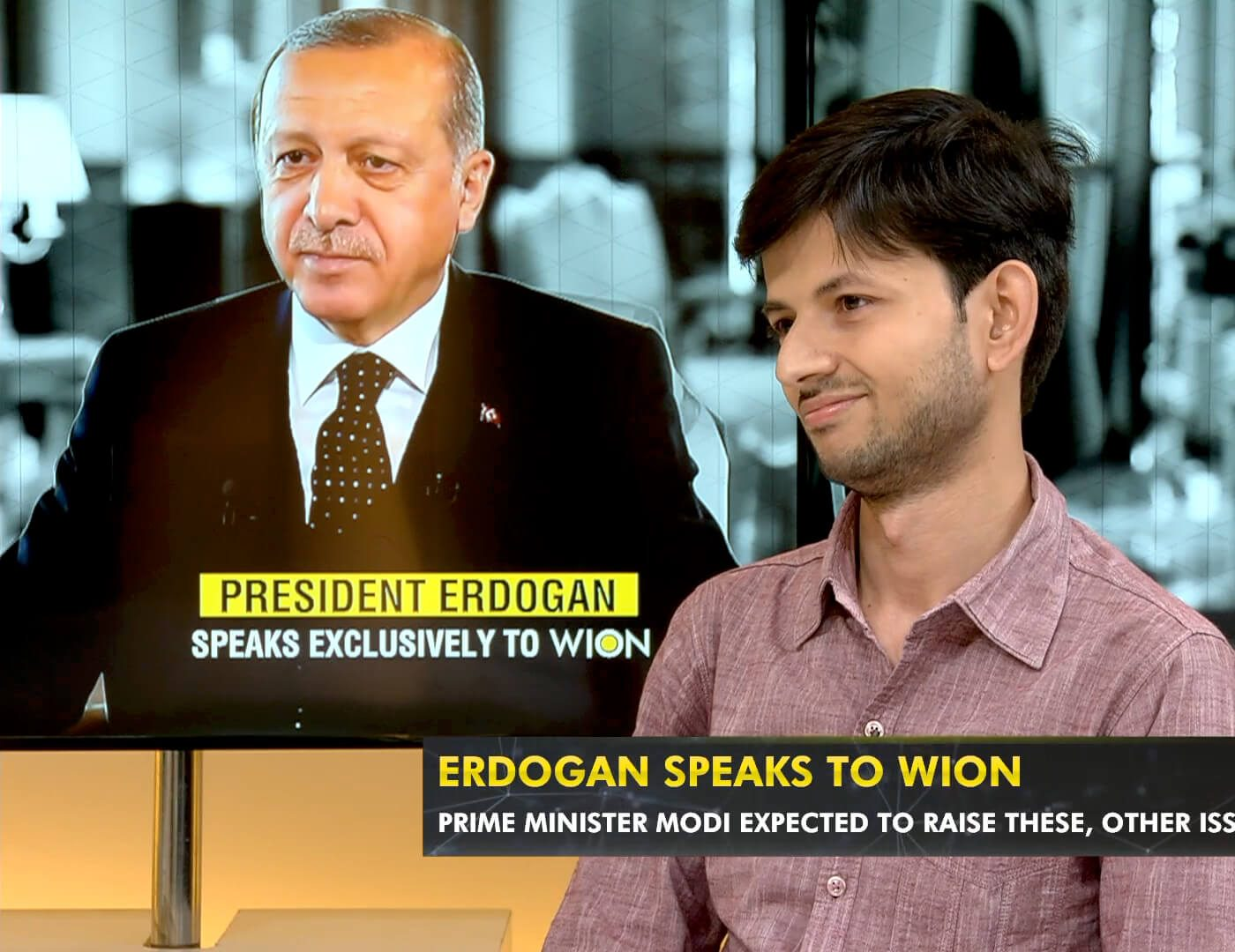 TI Research Fellow Mohammad Fatmi speaks to WION about President Erdogan's Visit to India
