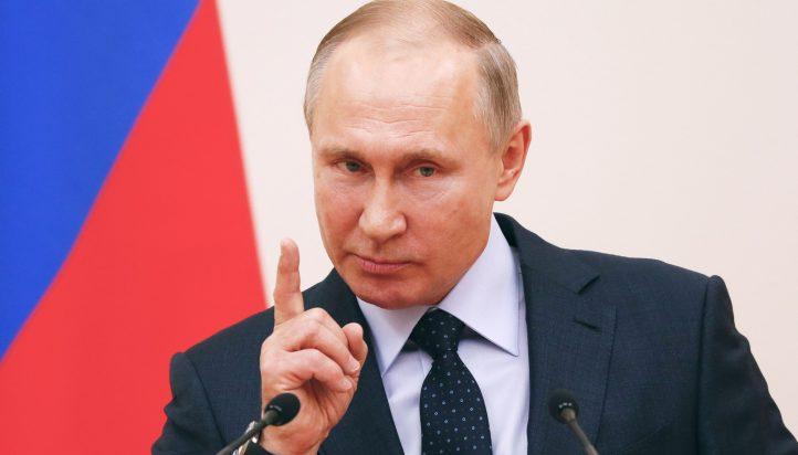 Russian president Vladimir Putin (Grigory Dukor/Reuters)